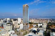 The tallest Building in Nicosia by Cyfield is in the final straight
